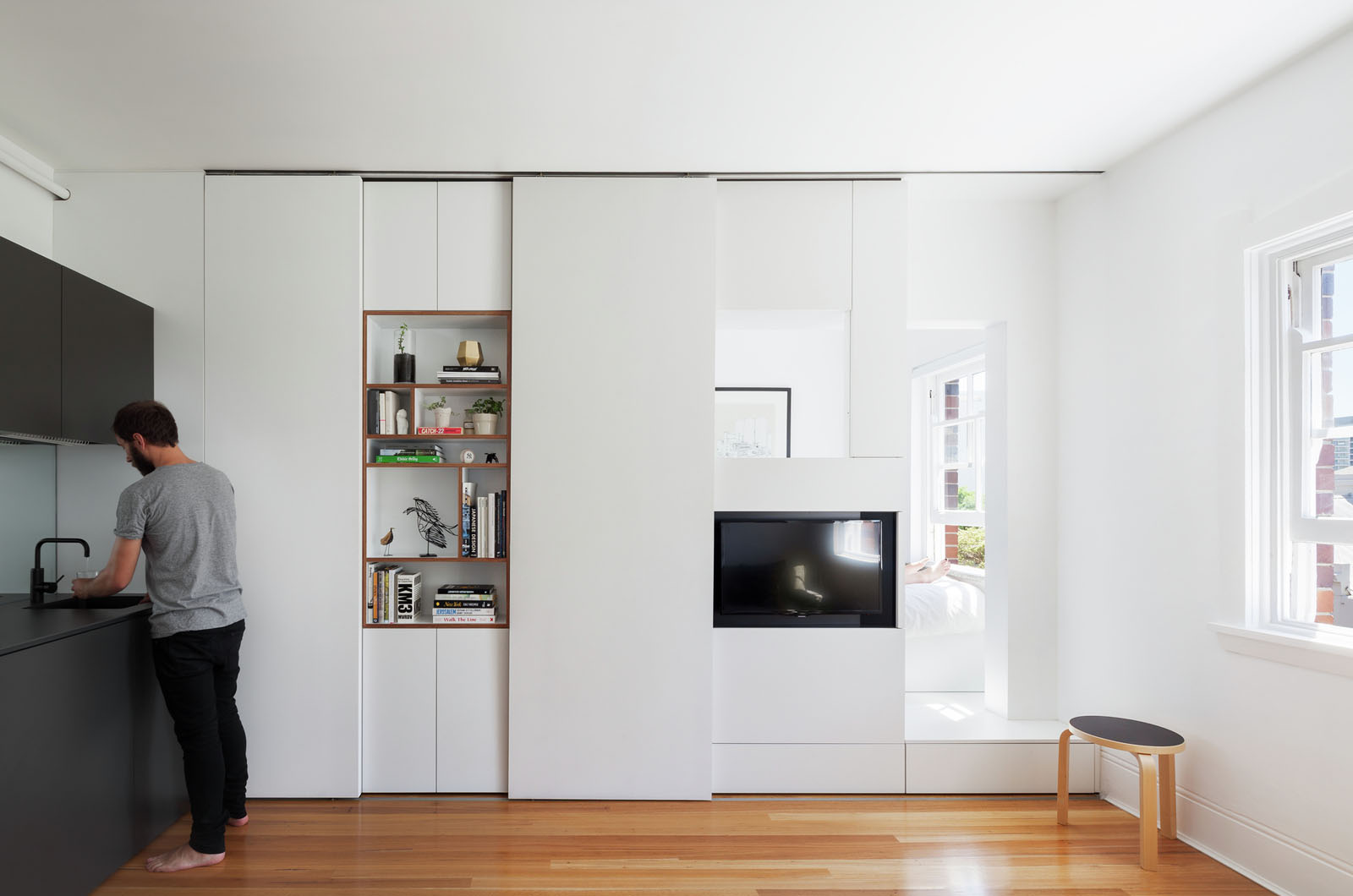 Micro Studio Apartments Minimalist Inner City Micro Apartment With Smart