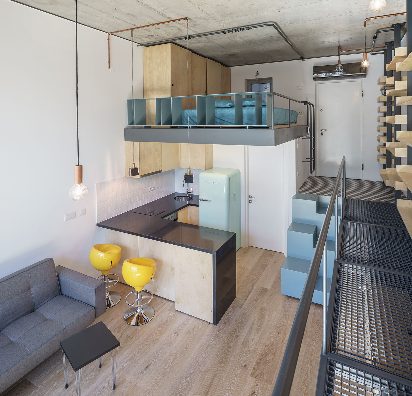 Micro Studio Apartments Contemporary Studio Apartment In Bucharest Idesignarch