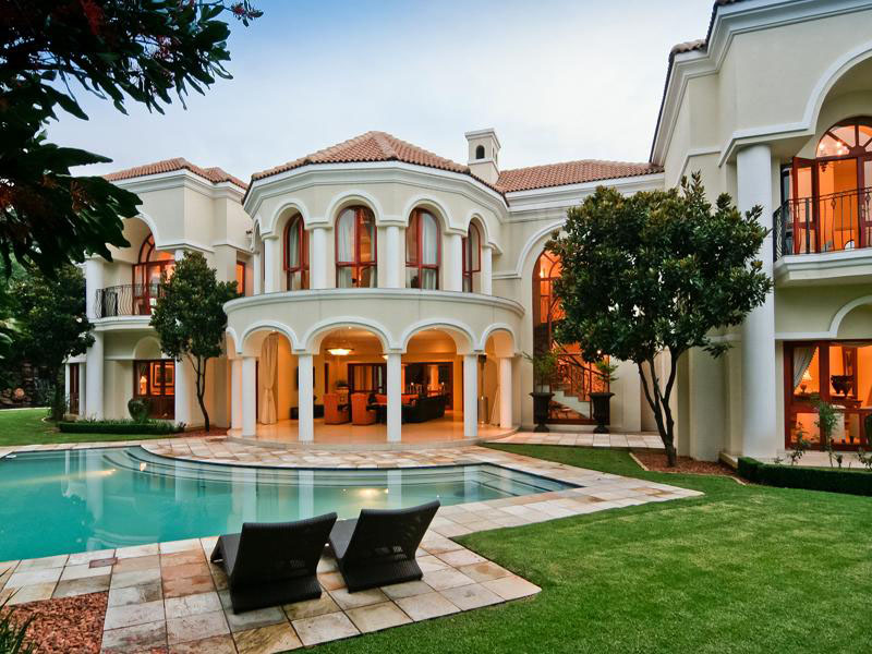 Model Rumah Masa Depan Exquisite Mansion In South Africa | Idesignarch | Interior