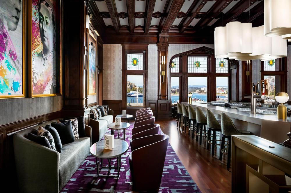 Fusion Tables Renovation Of Fairmont Empress Hotel Blends Modern Luxury