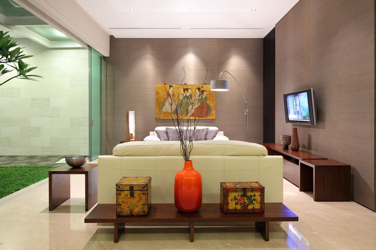 Interiors Ideas Luxury Garden House In Jakarta Idesignarch Interior