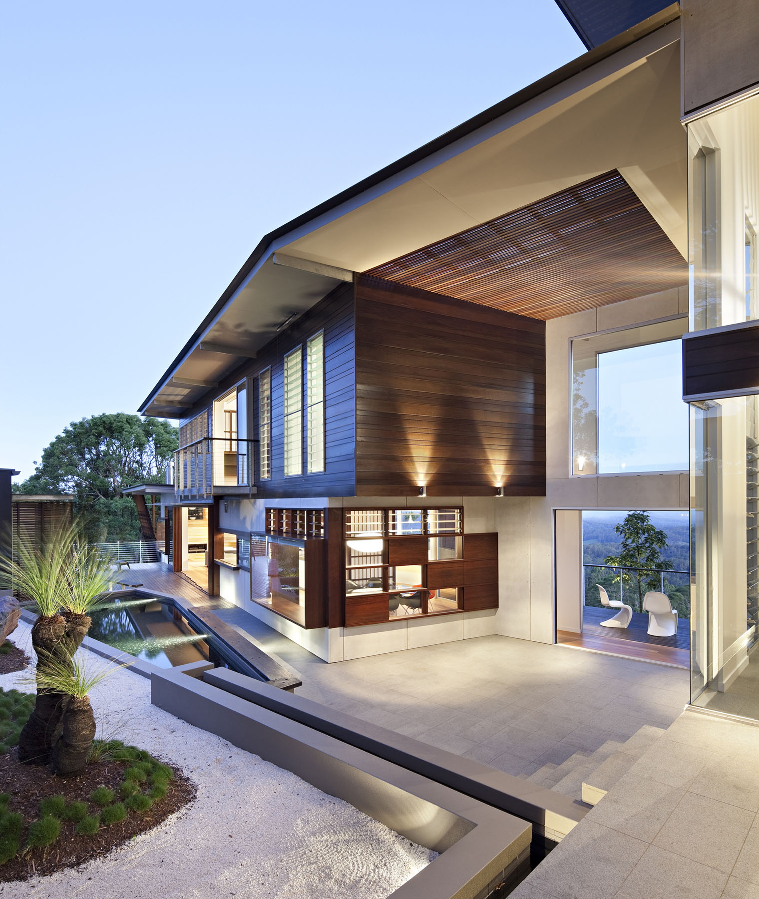 Luxury Modern Residence With Breathtaking Views Of Glass House Mountains Idesignarch Interior Design Architecture Interior Decorating Emagazine
