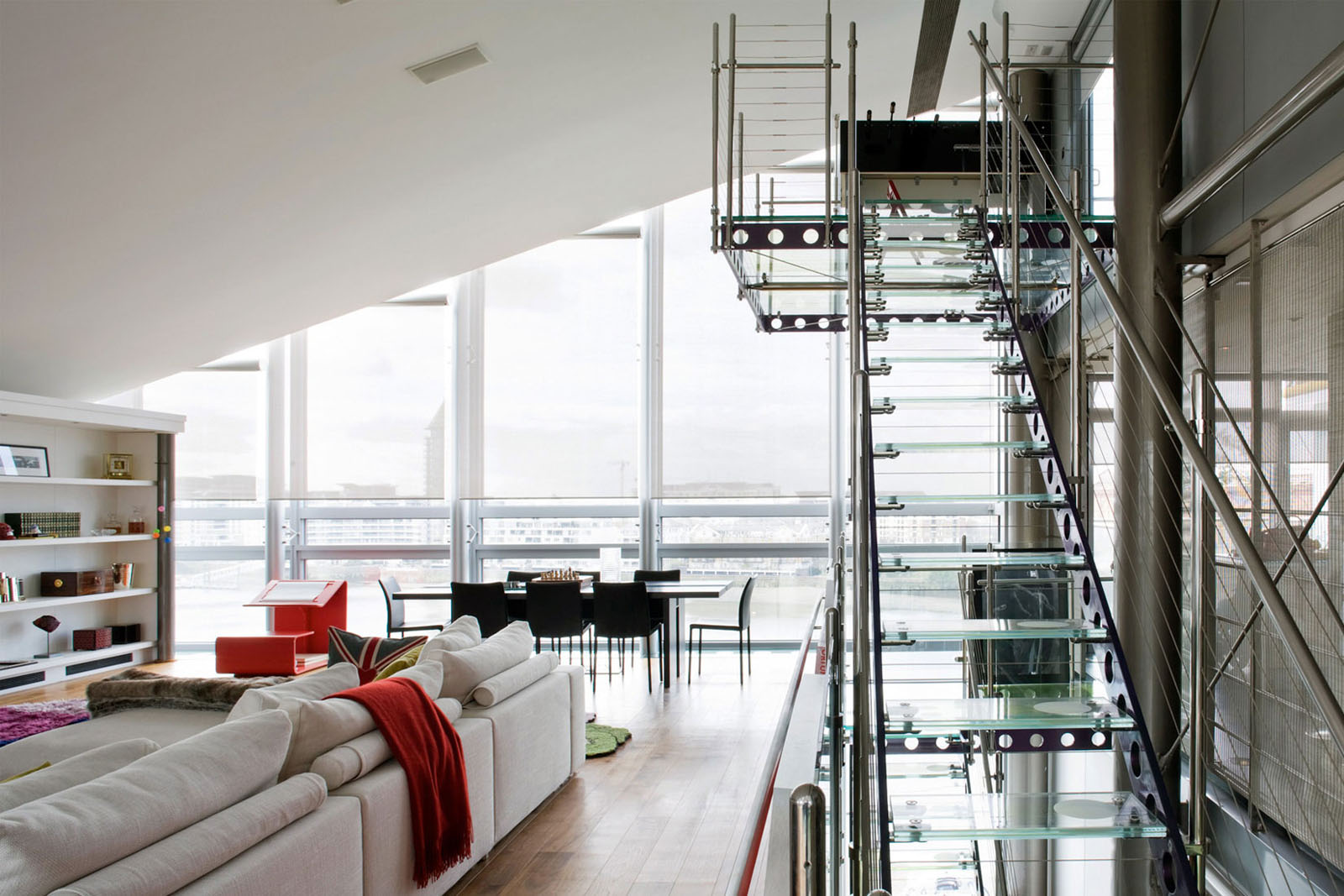 Very Small Bathroom Design Glass Penthouse In London By The Thames | Idesignarch