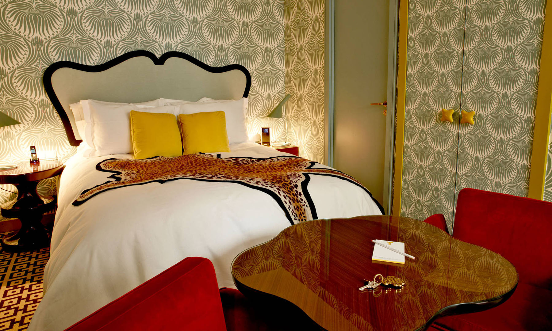 Boutique Deco Paris French Art Deco Interior Design By India Mahdavi At Hotel