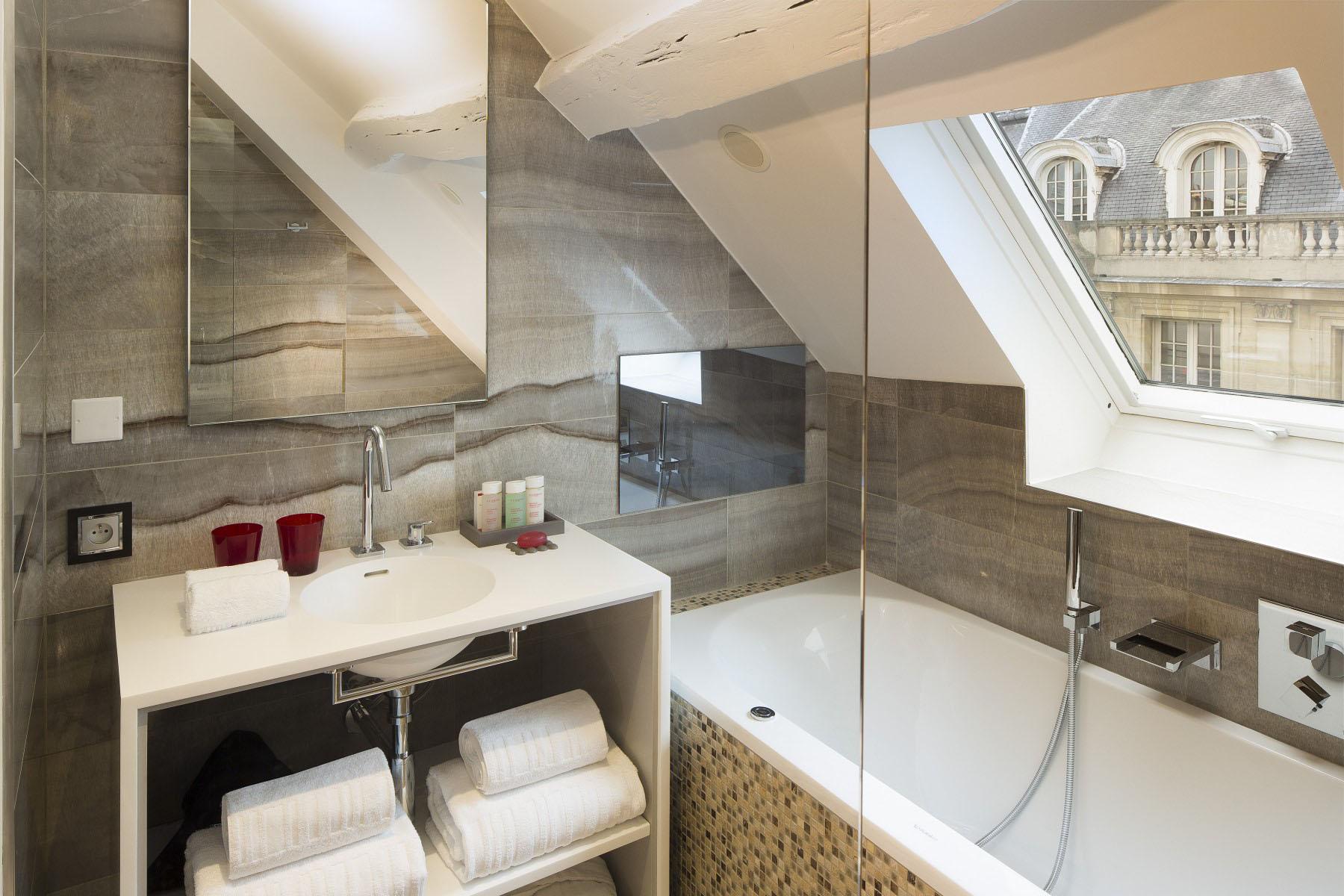 Dachgeschosswohnung Einrichten Hahnenkamm Lodge Kitzbühel Landhaus