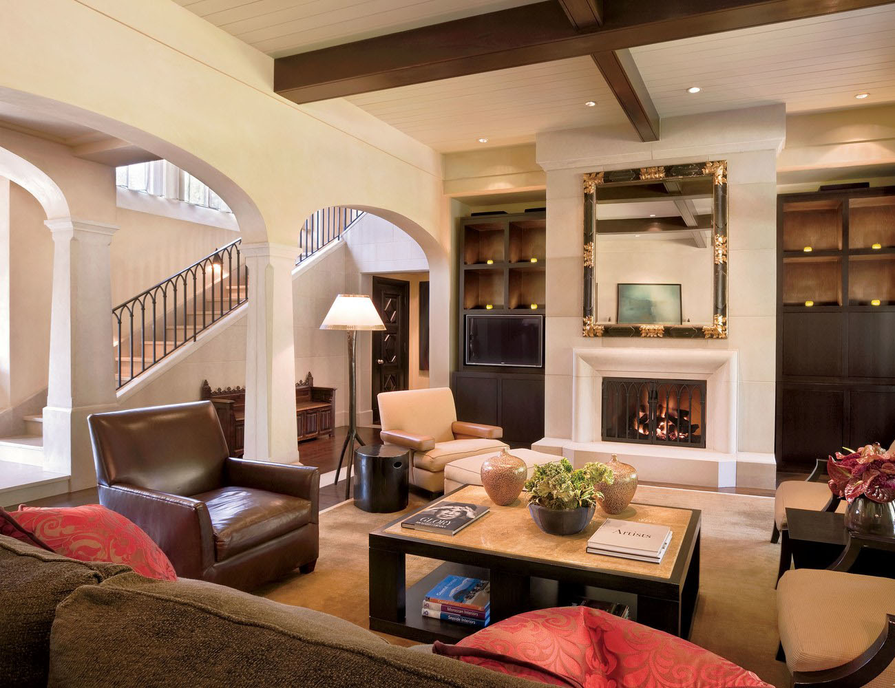 Salon Style Colonial Spanish Colonial Style Luxury Mansion In The Heart Of