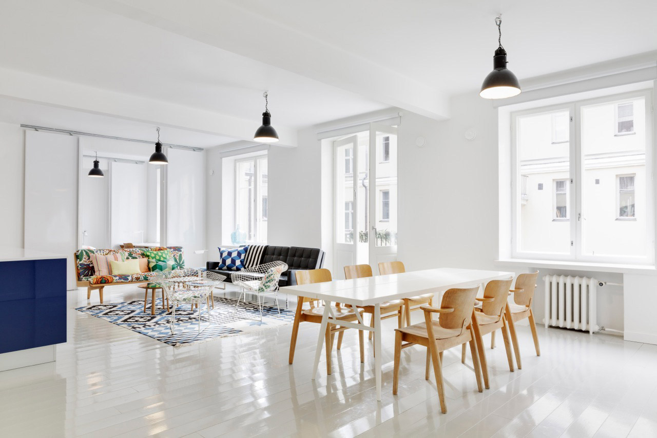 Tegel Lantai Exquisite Scandinavian Apartment Interiors | Idesignarch