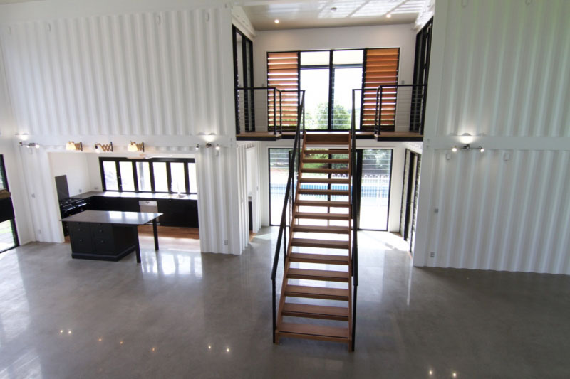 Maison Contener Luxury Container Home With High End Interior Finishes