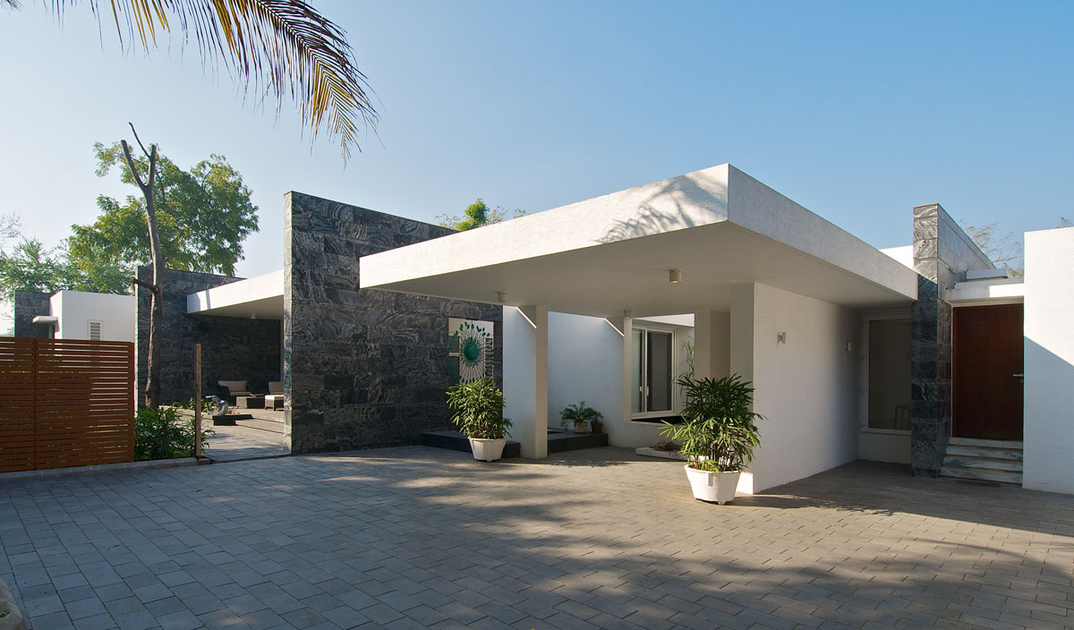 Home Design Of India Minimalist Bungalow In India Idesignarch Interior Design