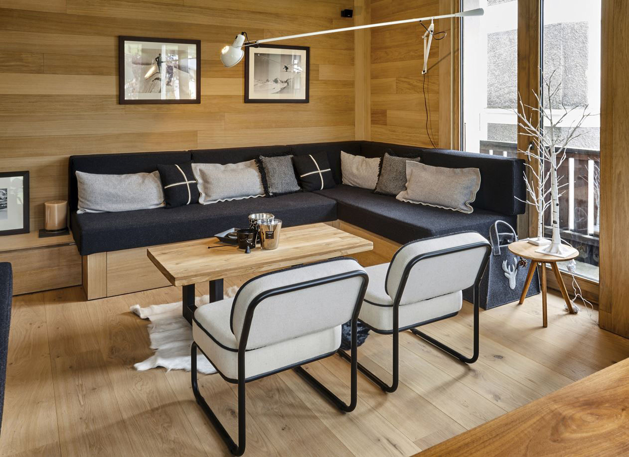 Interiors France Modern Ski Resort Apartment In The French Alps