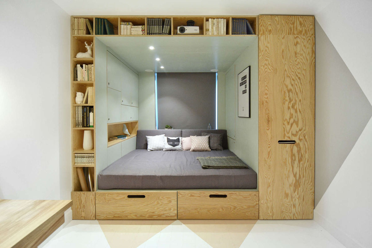 Small Beds For Box Rooms Stylish Bedroom Design For Teenager With Multifunctional