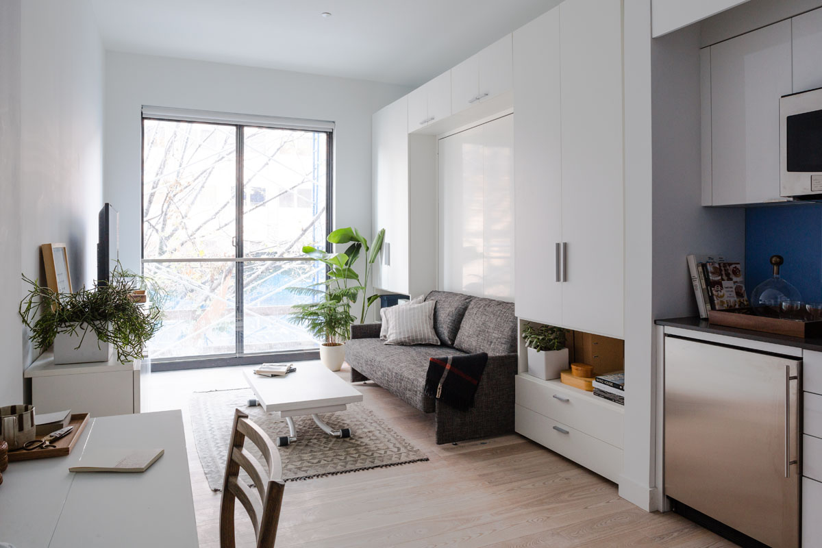 Micro Studio Apartments Prefab New York Micro Unit Apartment Building Offers