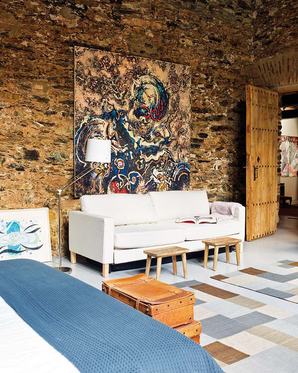Ikea Spain 12th Century Oil Mill Converted Into Contemporary Home