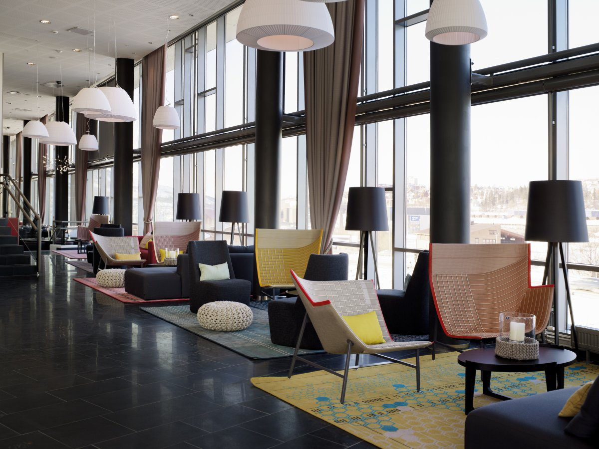 Hotel Interior Design Rica Hotel Narvik A Stylish Modern Business Hotel
