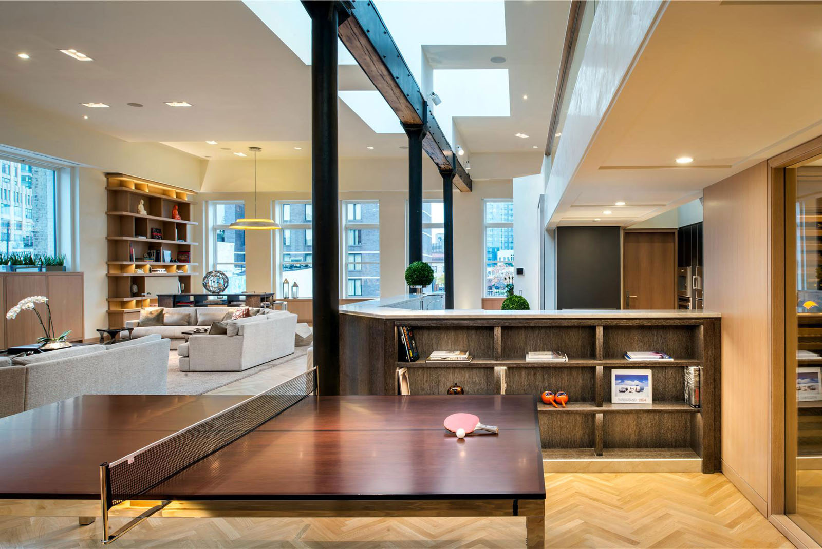 Kitchen Design Soho Nyc Exclusive Lower Manhattan Penthouse Loft In Soho