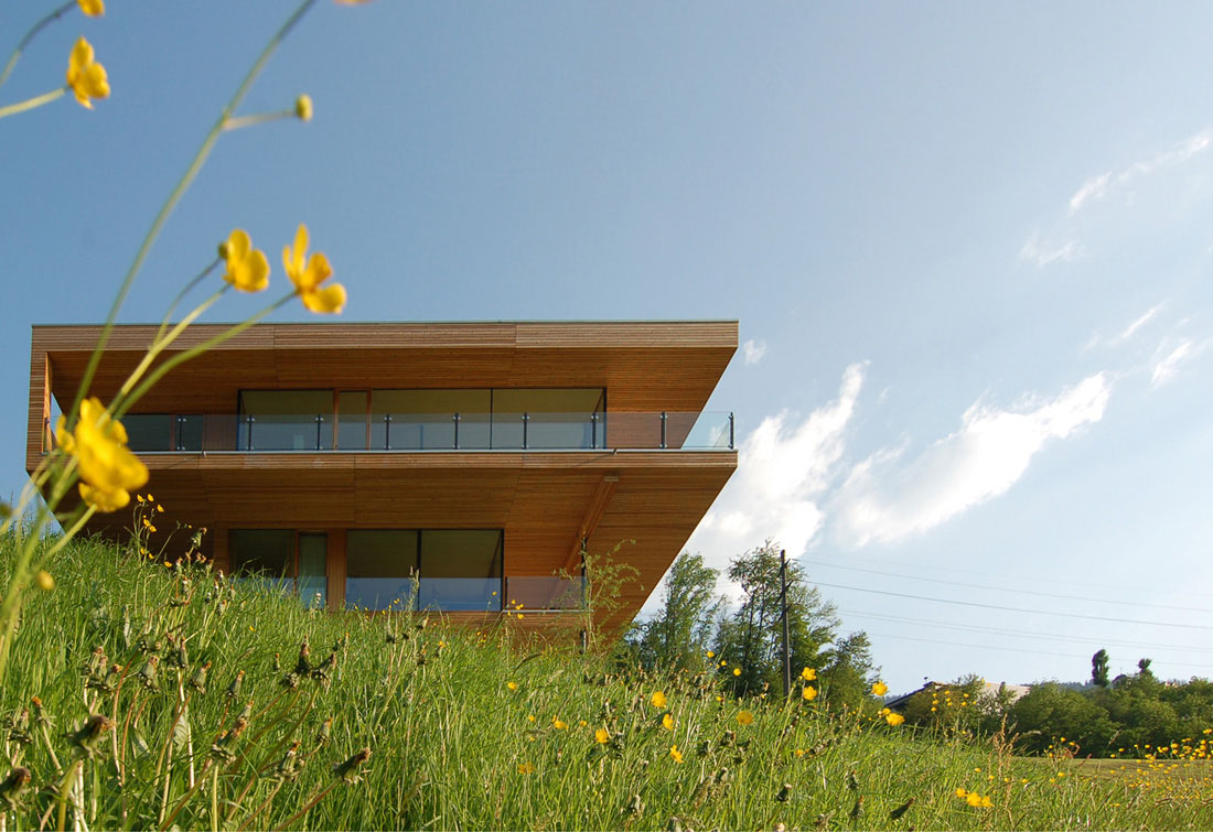 Hausbau Am Hang Modern House By The Lake In Switzerland | Idesignarch