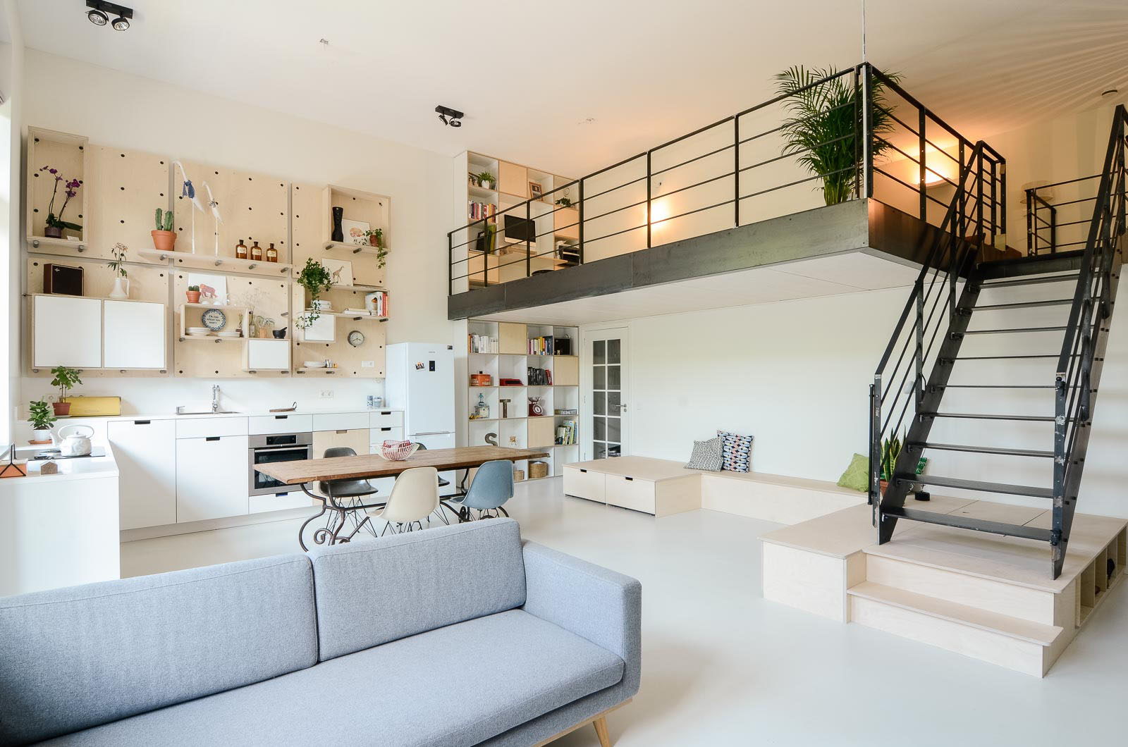 Efficiency Apartment Vs Studio Old School Building Converted Into Modern Family Loft