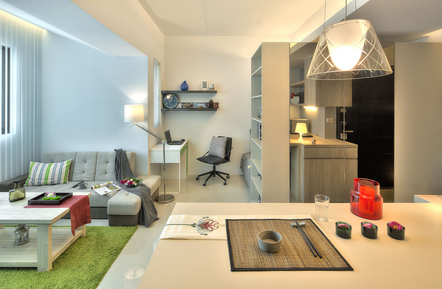 Apartment Einrichten Small Taipei Studio Apartment With Clever Efficient Design
