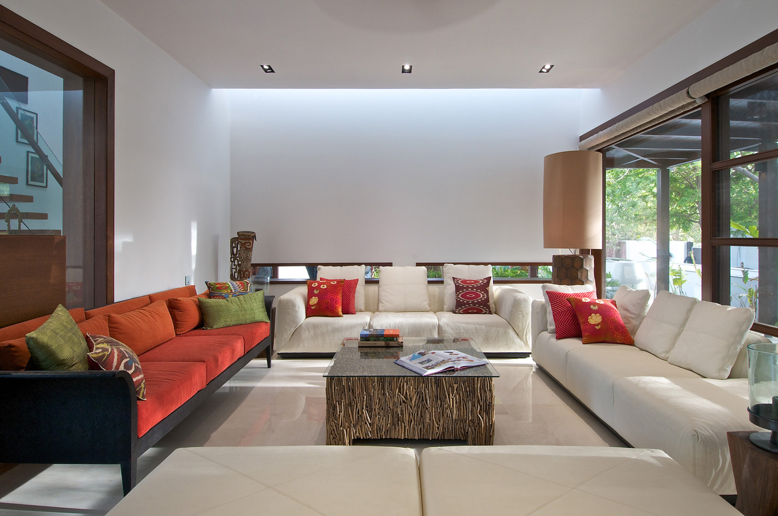 Www.home Design Timeless Contemporary House In India With Courtyard Zen