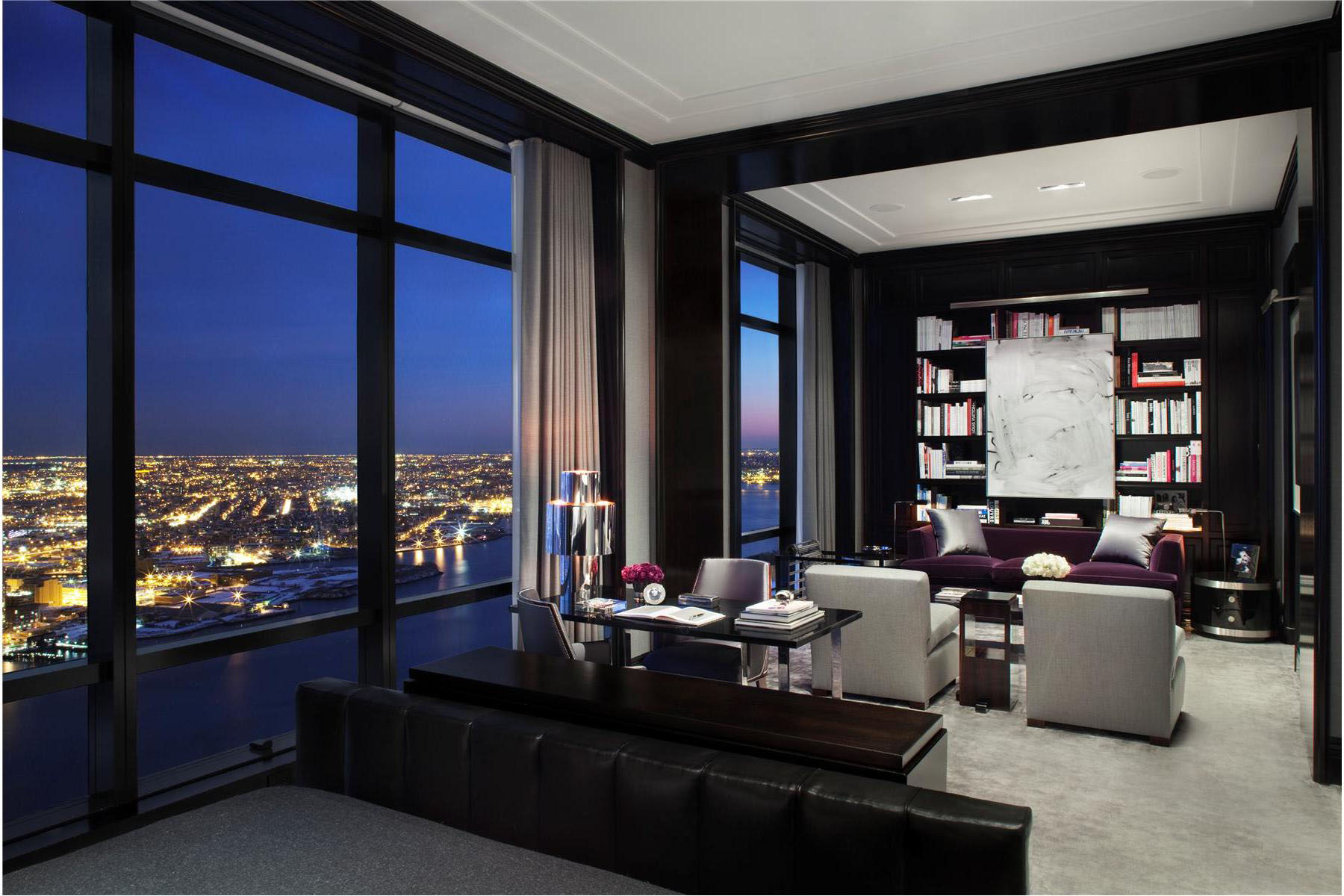 Trump World Tower Modern Penthouse Idesignarch Interior Design - Interieur New York Style