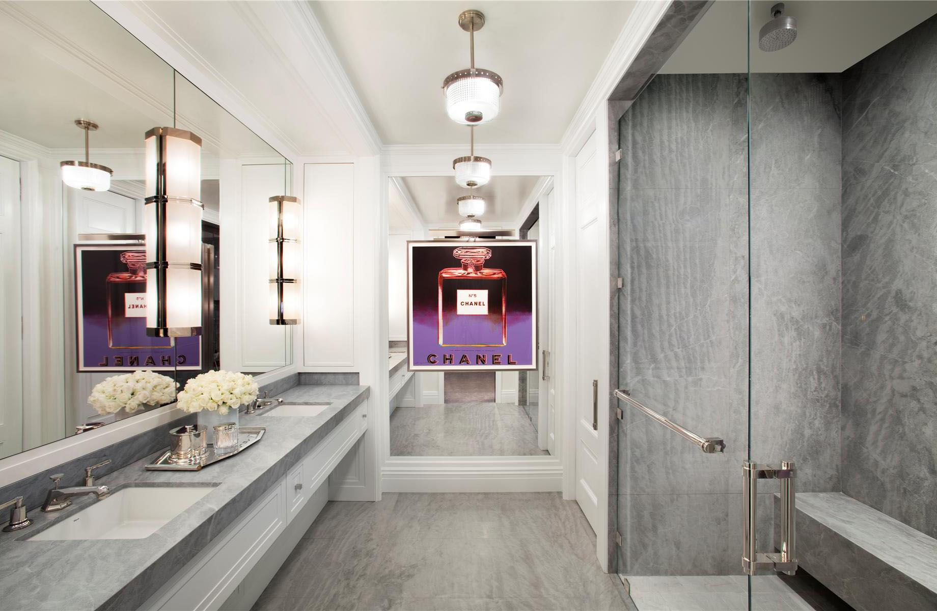 Extravagant Bathrooms Trump World Tower Modern Penthouse Idesignarch