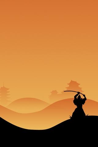 Hd Sports Wallpapers For Iphone Samurai Iphone Wallpaper Idesign Iphone