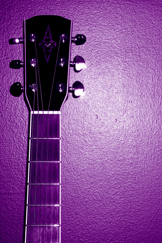 Anime Beautiful Girl Wallpaper Guitar Iphone Wallpaper Idesign Iphone