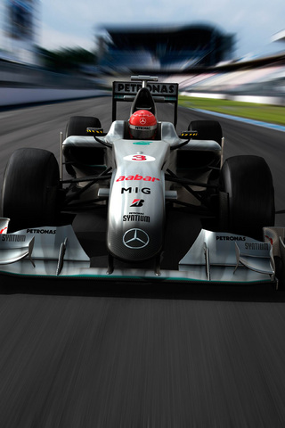 Mercedes Formula 1 iPhone Wallpaper | iDesign iPhone