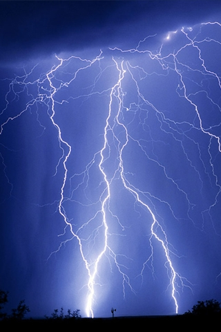 Awesome 3d Wallpapers Hd Lightning Iphone Wallpaper Idesign Iphone