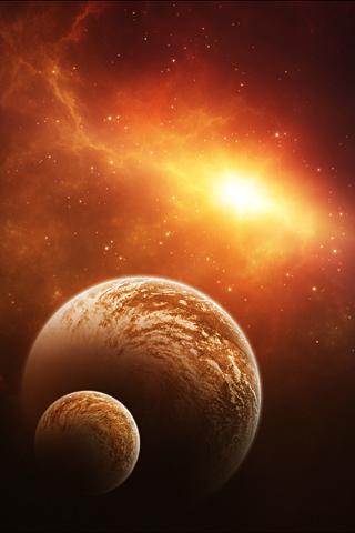 Little Planet iPhone Wallpaper   iDesign iPhone