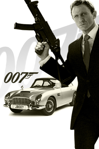 James Bond 007 iPhone Wallpaper | iDesign iPhone