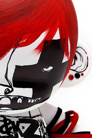 Emo Munny Closeup iPhone Wallpaper | iDesign iPhone