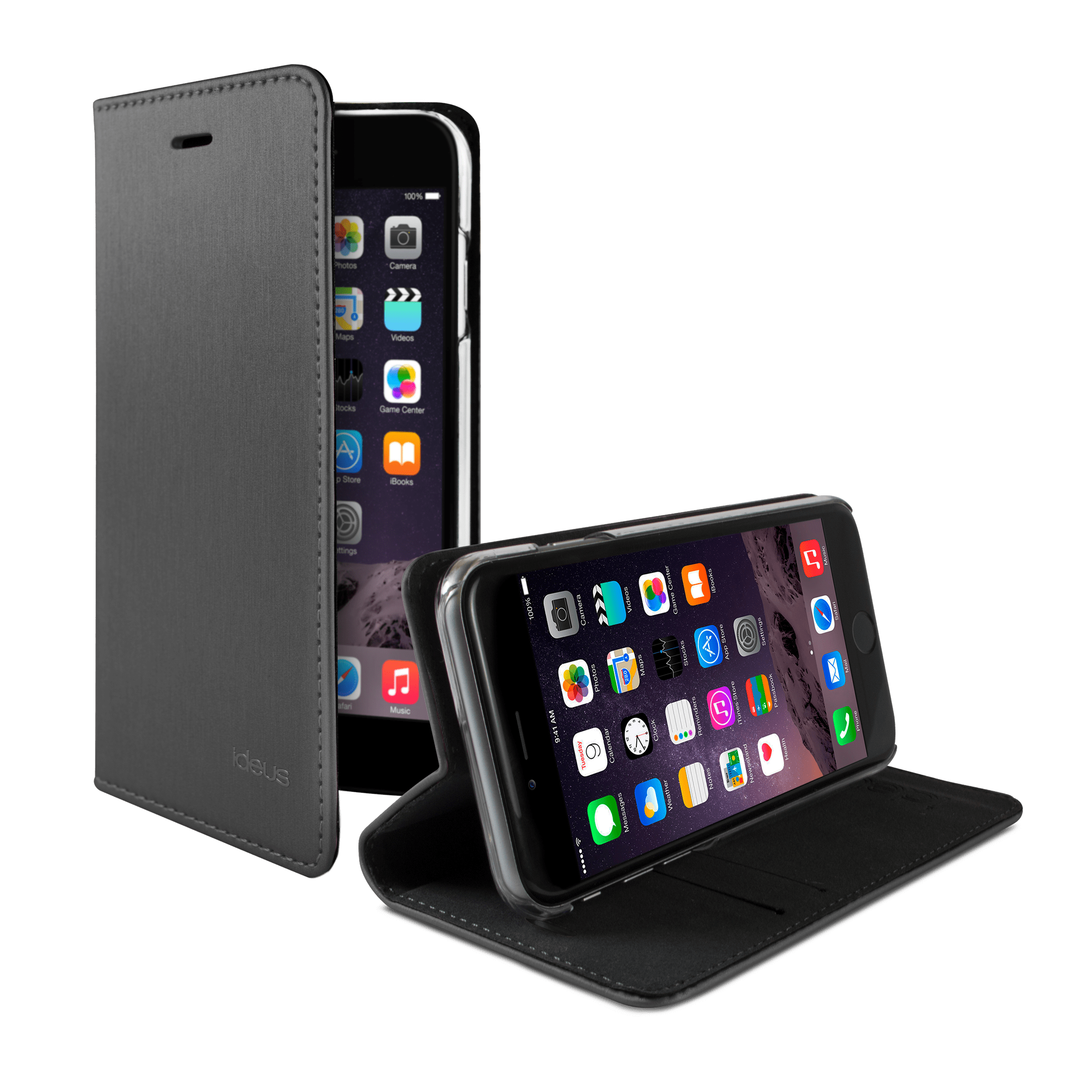 Funda Libro Iphone 7 Funda Libro Con Cierre Magnético Iphone 8 Plus 7 Plus Ideus