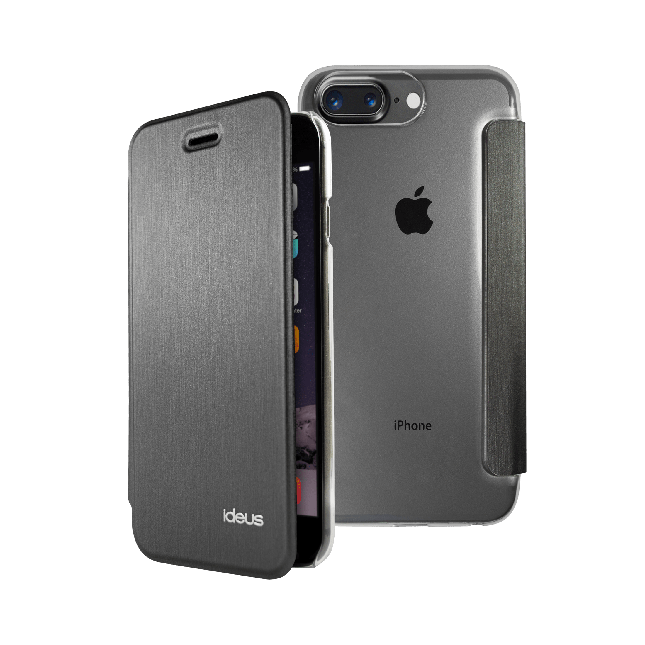 Funda Libro Iphone 7 Funda Ultra Thin Premium Iphone 8 Plus 7 Plus Ideus