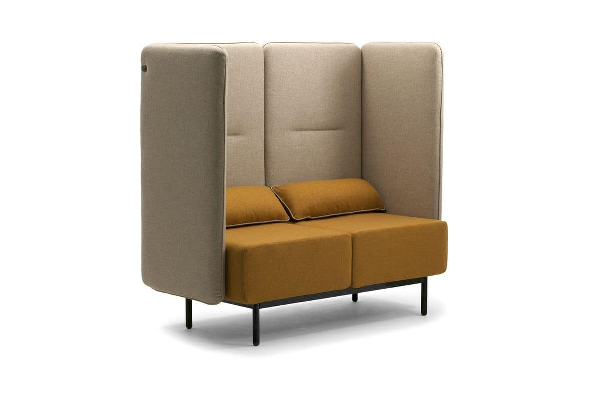 Sofa Relax Con Usb Modern Sofas Suited For Waiting Areas Idfdesign