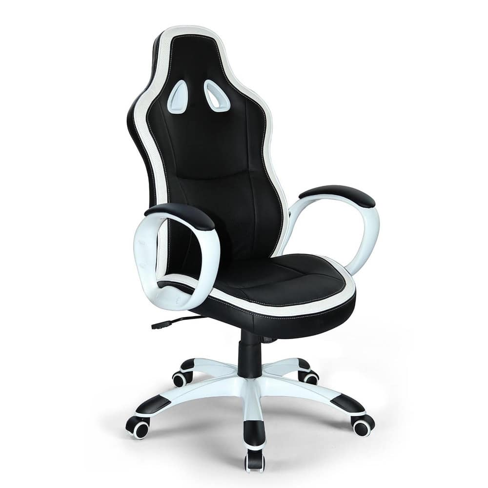 Sedia Ufficio Ecopelle Sporty Office Chair Stable And Comfortable Idfdesign