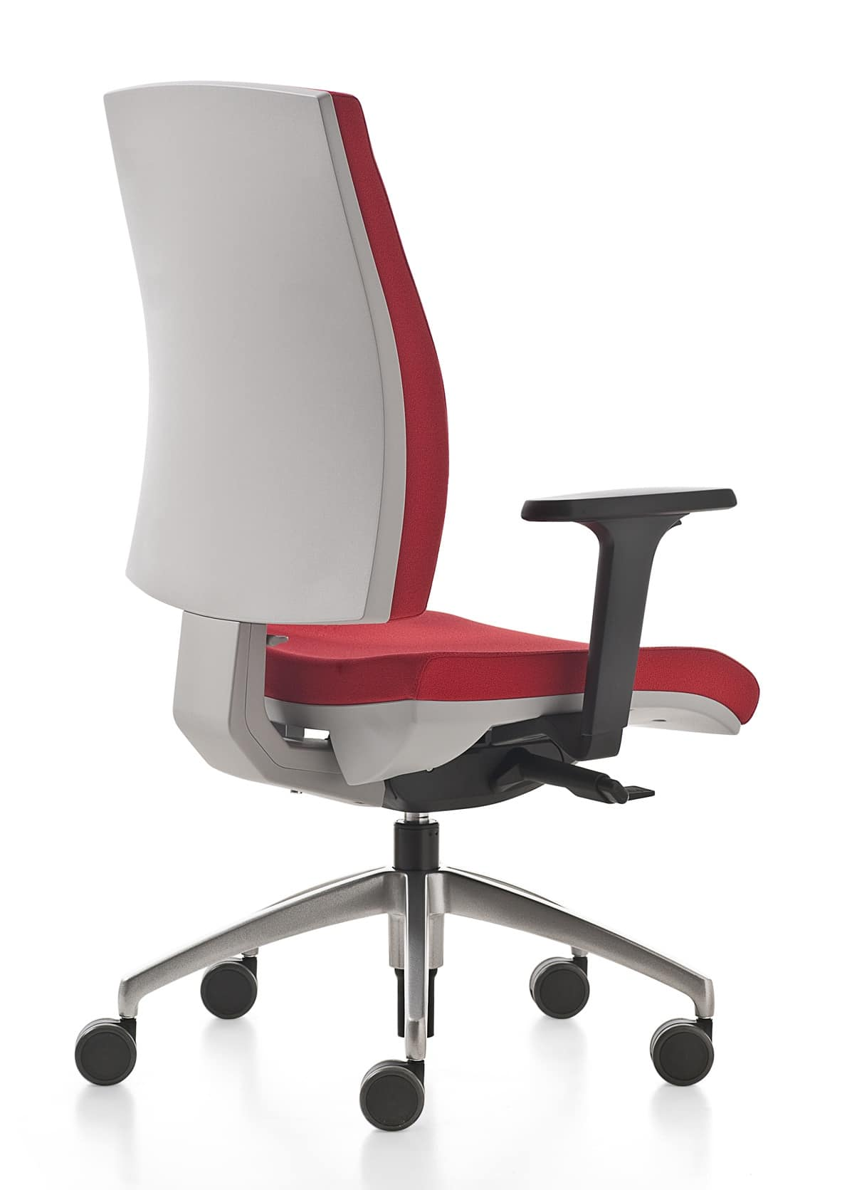 Adjustable Desk Chair Without Wheels Swivel Office Chair With Adjustable Lumbar Support