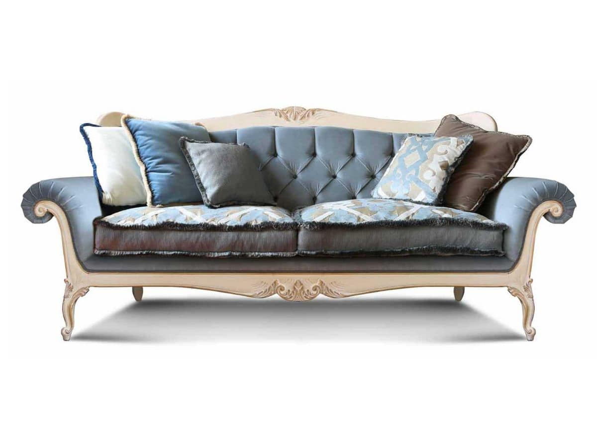 Luxus Samt Sofa Online Luxus Sofa Marken Luxus Couchgarnitur Extravagant In Wei