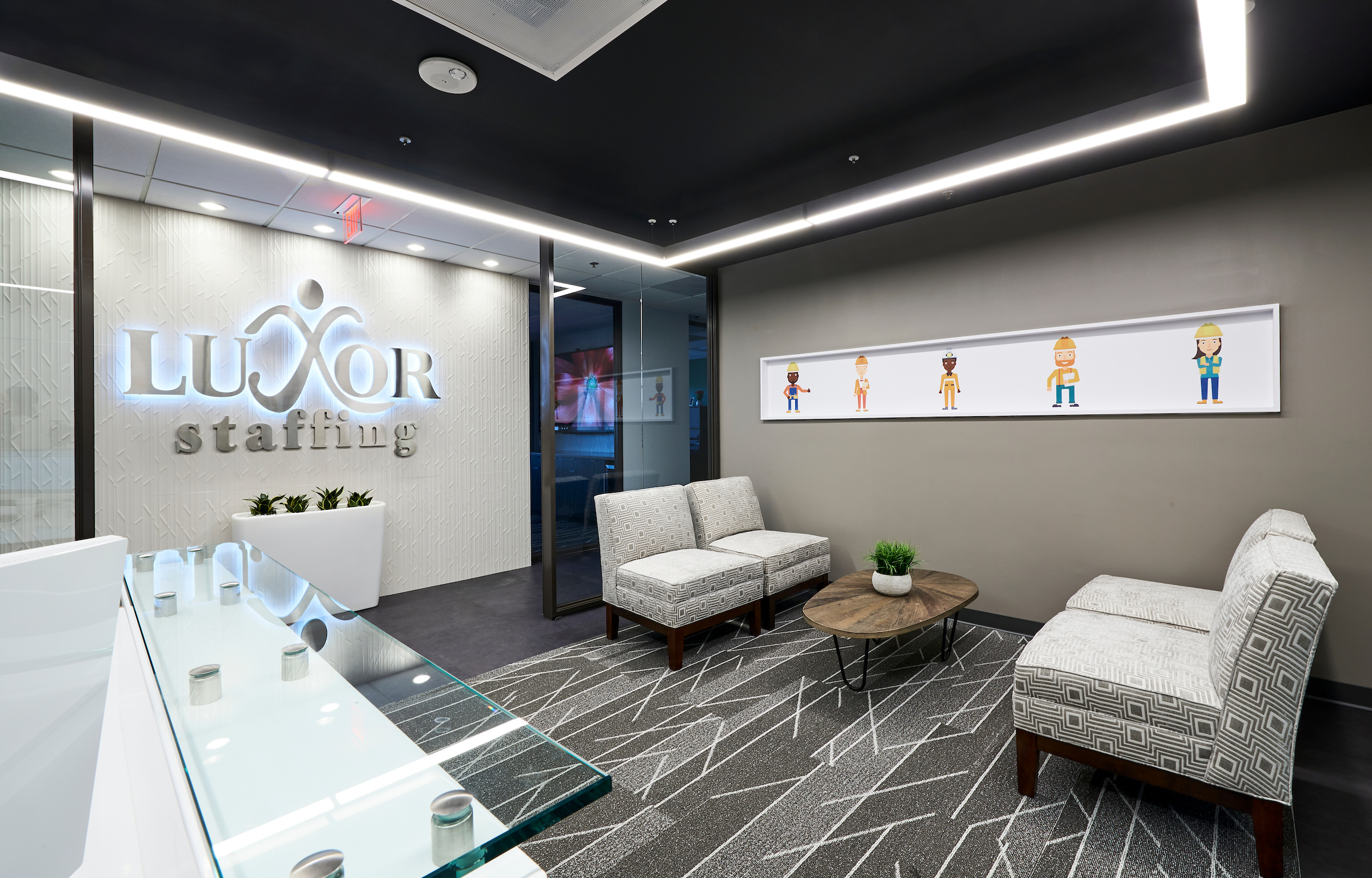 Gray Interior Design Corporate Design Dallas Fort Worth Tx Office Space Planning