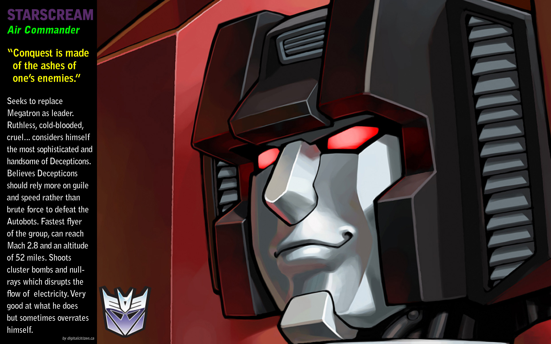 Great Love Quotes Wallpapers G1 Decepticons Wallpaper Gallery 6 1920 X 1200 Pixels