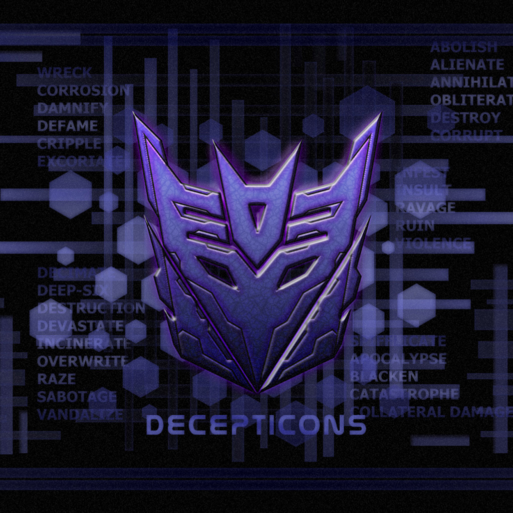 Happiness Quotes Wallpaper Iphone Autobots Decepticons And Transformers Logos Ipad