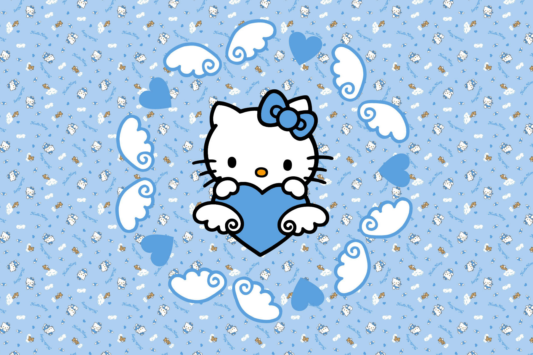 Cute Sanrio Wallpapers Hello Kitty And Sanrio Printable Picture Postcards 6 X 4