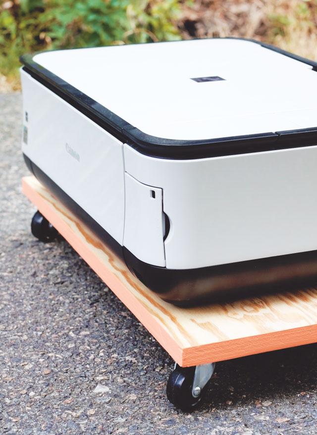 DIY Painted Edge Printer Tray || Jade and Fern