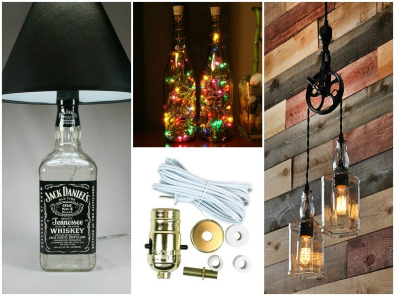 Lampe Ast Diy Bottle Lamp: Make A Table Lamp With Recycled Bottles