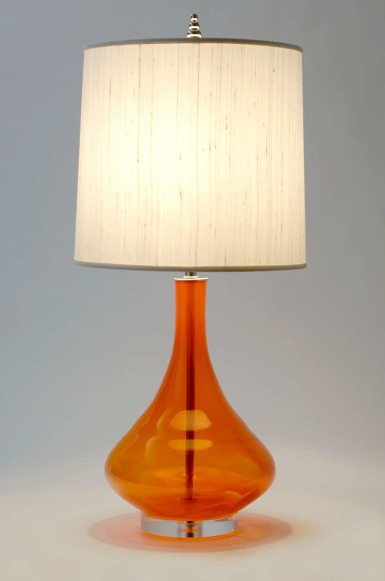 Table Lamp Tripod Orange Table Lamps Selection • Id Lights