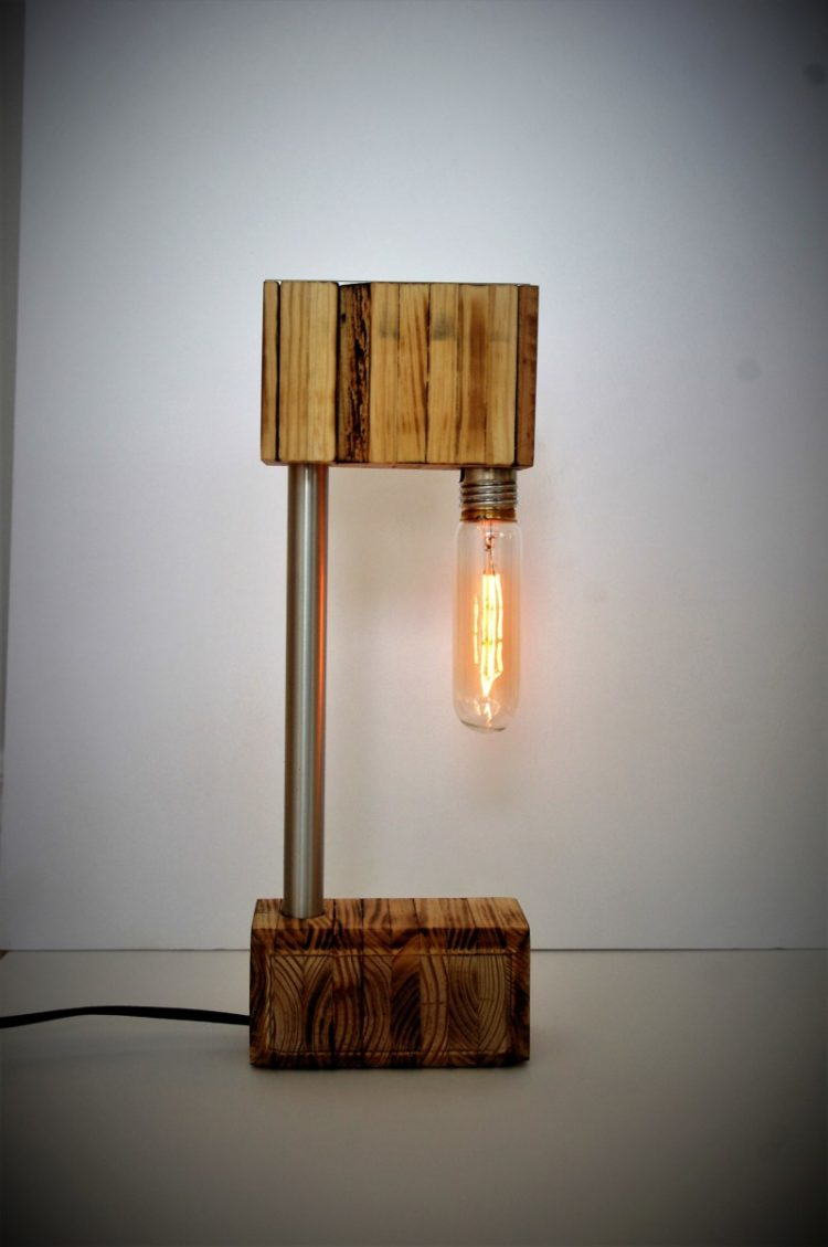 Unique Pendant Lighting The Recycled Wooden Desk Lamp • Id Lights