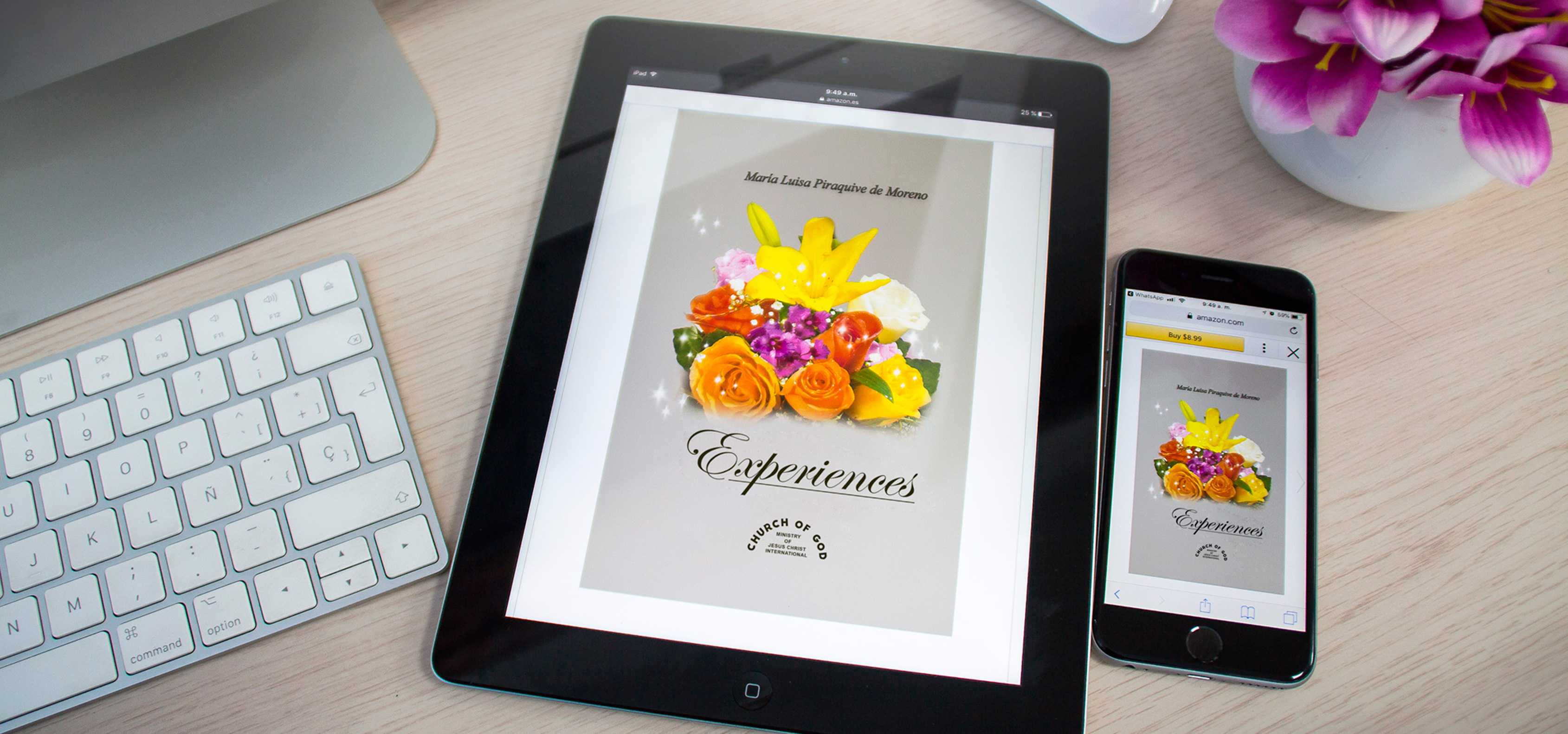 Libro Maria Luisa Experiences Is Now Available In E Book Form