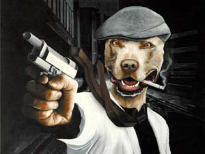 Pitbulls And Girls Wallpaper 51 Gangsta Dog Names After Notorious Bad Guys
