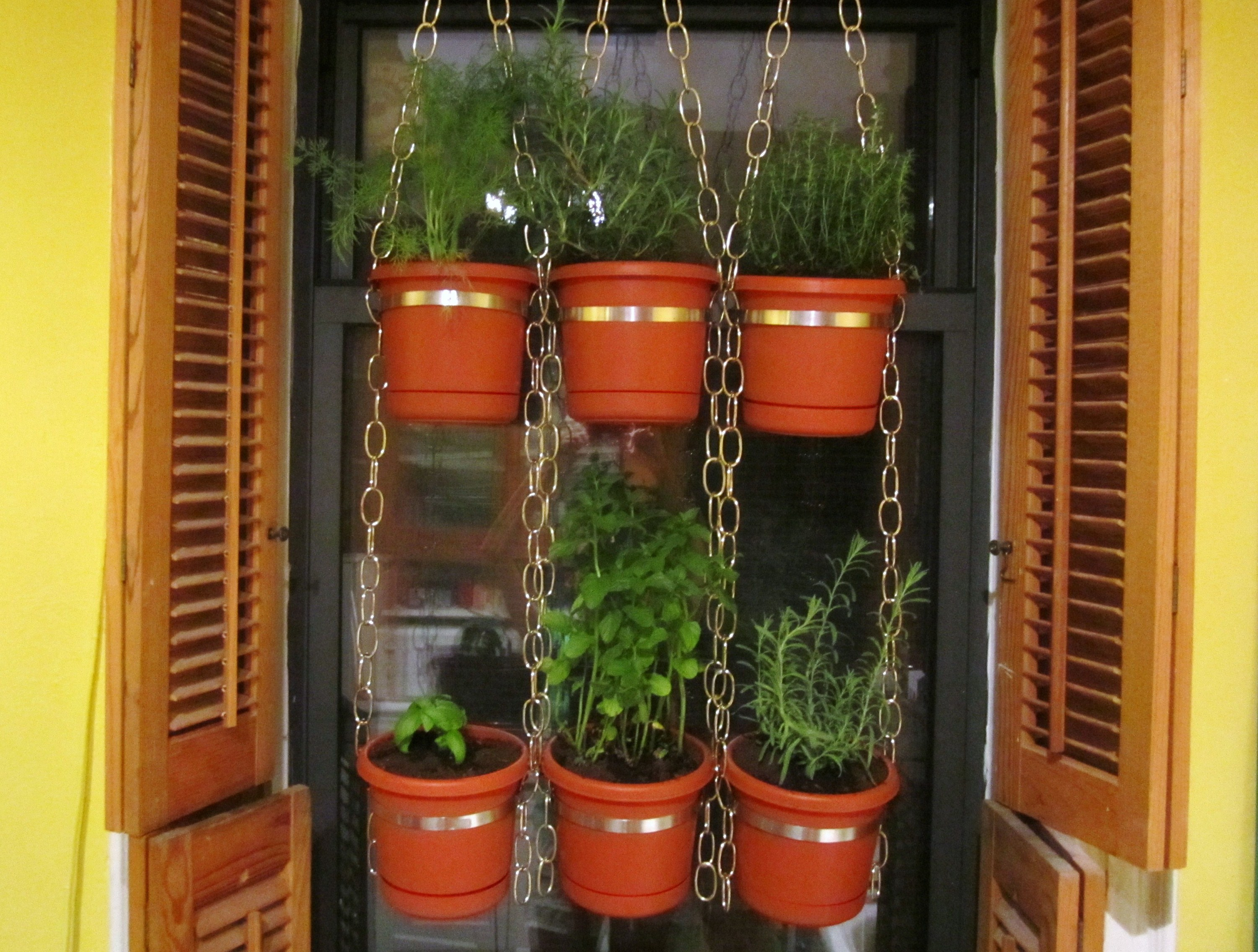 Hanging Indoor Herb Garden Herb Garden I 39d Rather Be In France