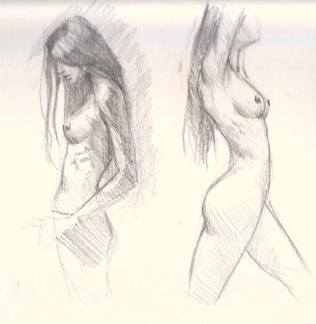 devil erotic sketches